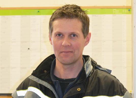 Eirik Voll, bonde på Rennesøy.