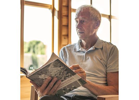 Magnar Undheim, forfattar av Jæren Smalalag – 100 år på heiaveg, fortel om sitt arbeid med å samle historia.