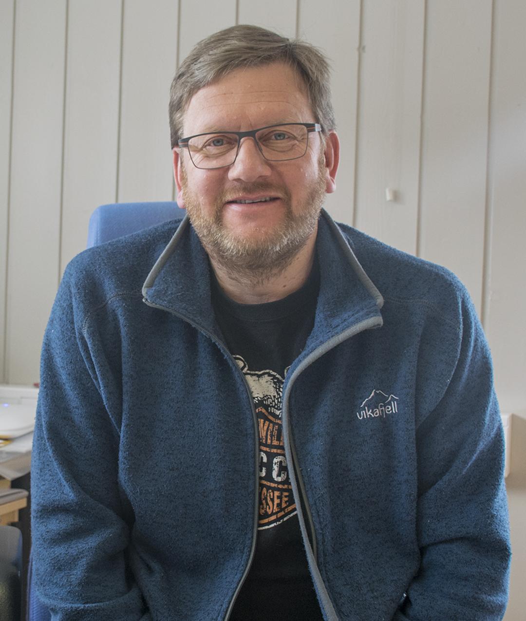 Hans Vandaskog Nesheim, meierisjef Tine Haukeli Meieri
