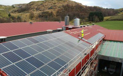 Energi frå taket
