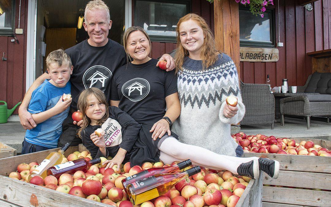 Lever av eple