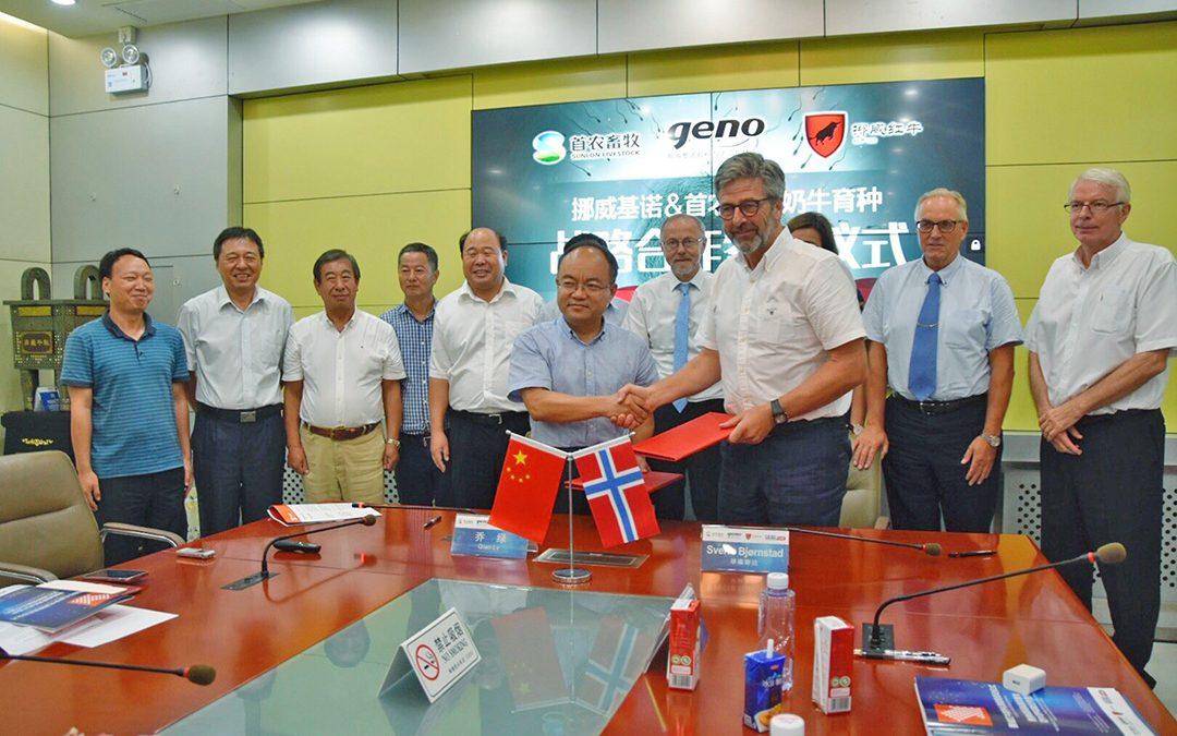 Kina satsar på NRF