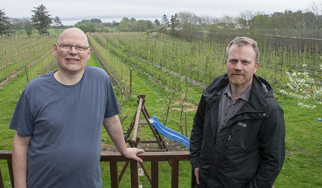 Har tusenvis av arbeidarar i frukthagen