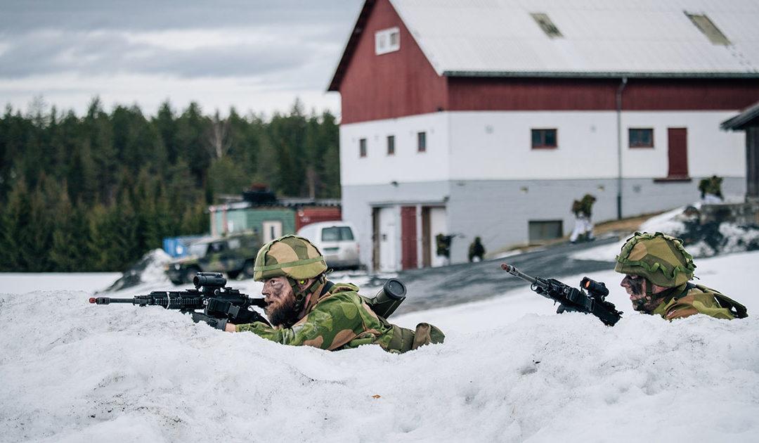 Forsvaret kan rekvirera traktoren