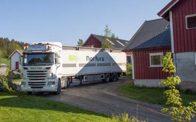 Nortura Vest samarbeider med transportørane
