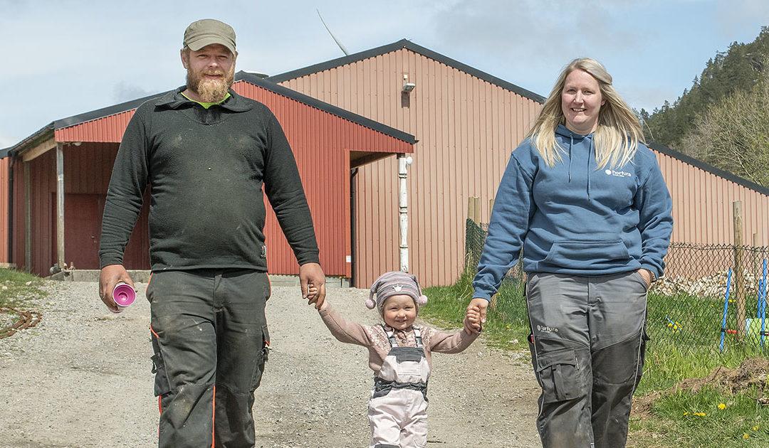 Jærbønder flytta til fjells