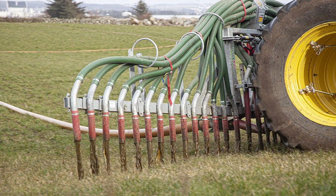 Bønder bekymra over brunt bekkevatn