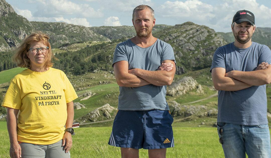 Fest mot vindkraft på Faurefjell