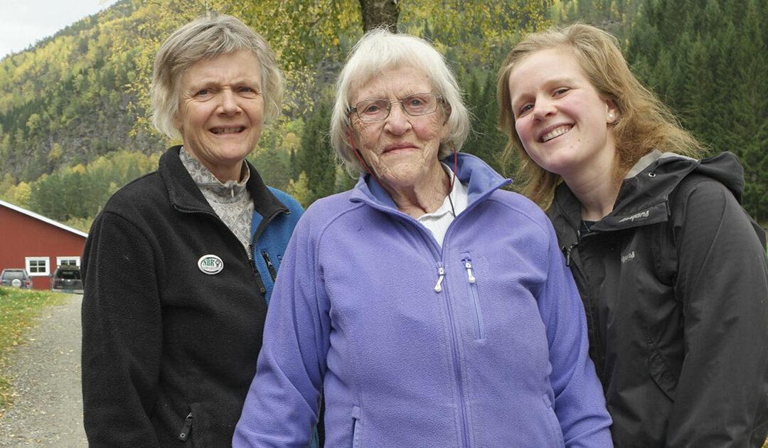 Kvinneliv på Bjørke i 30 – 60 – 90