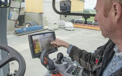 Regulerer lufttrykket frå traktorsetet