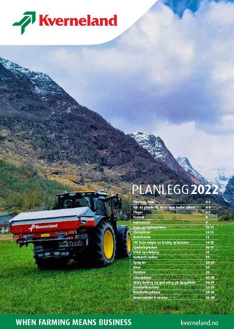 BV2721 – Kverneland – Planlegg 2022